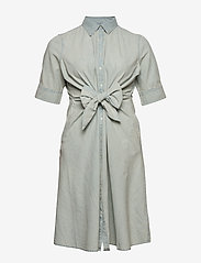 Lauren Women - Chambray Shirtdress - denimkjoler - vintage chambray - 0