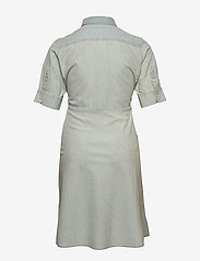 Lauren Women - Chambray Shirtdress - denimkjoler - vintage chambray - 1