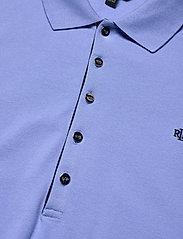 Lauren Women - Stretch Piqué Polo Shirt - polohemden - cabana blue - 2
