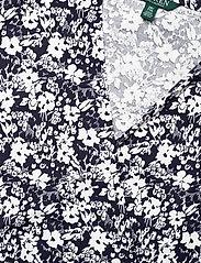 Lauren Women - Floral Wrap-Style Dress - slå-om-kjoler - lauren navy/pale - 2