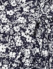 Lauren Women - Floral Wrap-Style Dress - slå-om-kjoler - lauren navy/pale - 3