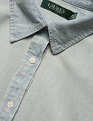Lauren Women - Chambray Shirtdress - denimkjoler - vintage chambray - 2