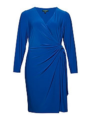 Buckled Jersey Dress - PORTUGUESE BLUE