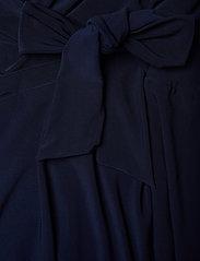 Lauren Women - COREEN-LONG SLEEVE-DAY DRESS - kietaisumekot - lighthouse navy - 3