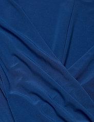 Lauren Women - CLEORA-LONG SLEEVE-DAY DRESS - slå-om-kjoler - dark cerulean - 2
