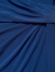Lauren Women - CLEORA-LONG SLEEVE-DAY DRESS - slå-om-kjoler - dark cerulean - 3