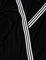 Lauren Women - Matte Jersey Wrap-Style Dress - slå-om-kjoler - black - 2