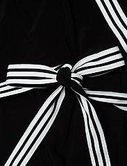 Lauren Women - Matte Jersey Wrap-Style Dress - slå-om-kjoler - black - 3