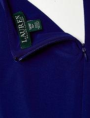 Lauren Women - Color-Blocked Jersey Dress - festkjoler - lh navy/l white/c - 3