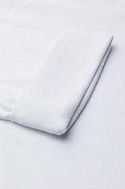 Lauren Women - Stretch Cotton Boatneck Tee - t-shirts - white - 2