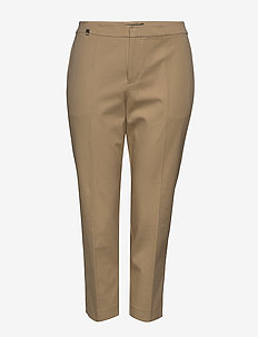 Cotton Twill Skinny Pant - bukser med smalle ben - birch tan