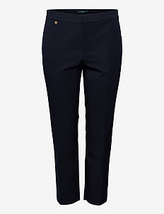 Cotton Twill Skinny Pant - trousers with skinny legs - lauren navy