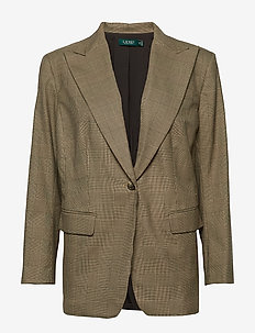 FRIESANN-JACKET - BROWN/TAN MULTI