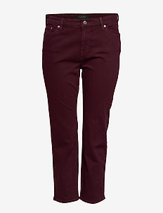 PRM STR ANK-5-POCKET-DENIM - PINOT NOIR WASH