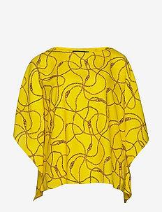 Print Cape-Sleeve Top - pitkähihaiset puserot - dandelion fields