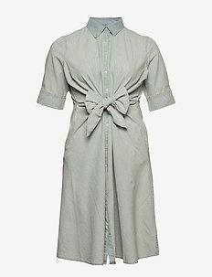 Chambray Shirtdress - skjortekjoler - vintage chambray