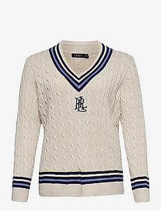 Logo Cricket Sweater - trøjer - mascrm/fnvy/cbl