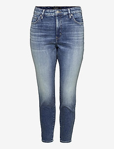 High-Rise Skinny Ankle Jean - jeans skinny - legacy wash