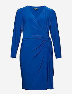 Buckled Jersey Dress - PORTUGUESE BLUE