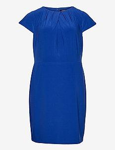 Jersey Short-Sleeve Dress - cocktailjurken - sapphire star