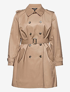 Trench Coat - trenchcoats - sand