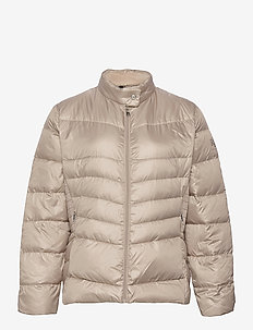 Down Moto Jacket - toppatakit - luxe chino