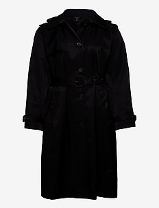 Trench Coat - trenchcoats - black