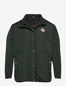 Quilted Jacket - steppjacken - hunter green