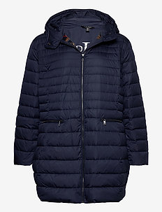 Packable Down-Fill Coat - padded coats - navy
