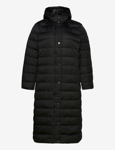 Quilted Down Maxi Coat - talvemantlid - black