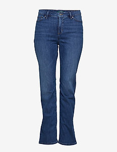 ULTIMATE STR INDIGO-STRAIGHT JEAN - HARBOR WASH DENIM
