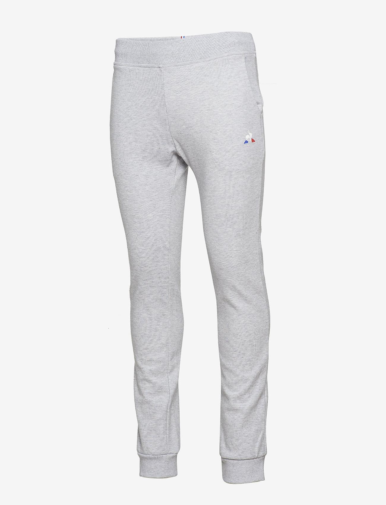 Le Coq Sportif ESS Pant Slim N°1 M - Joggebukser GRIS CHINé CLAIR - Menn Klær
