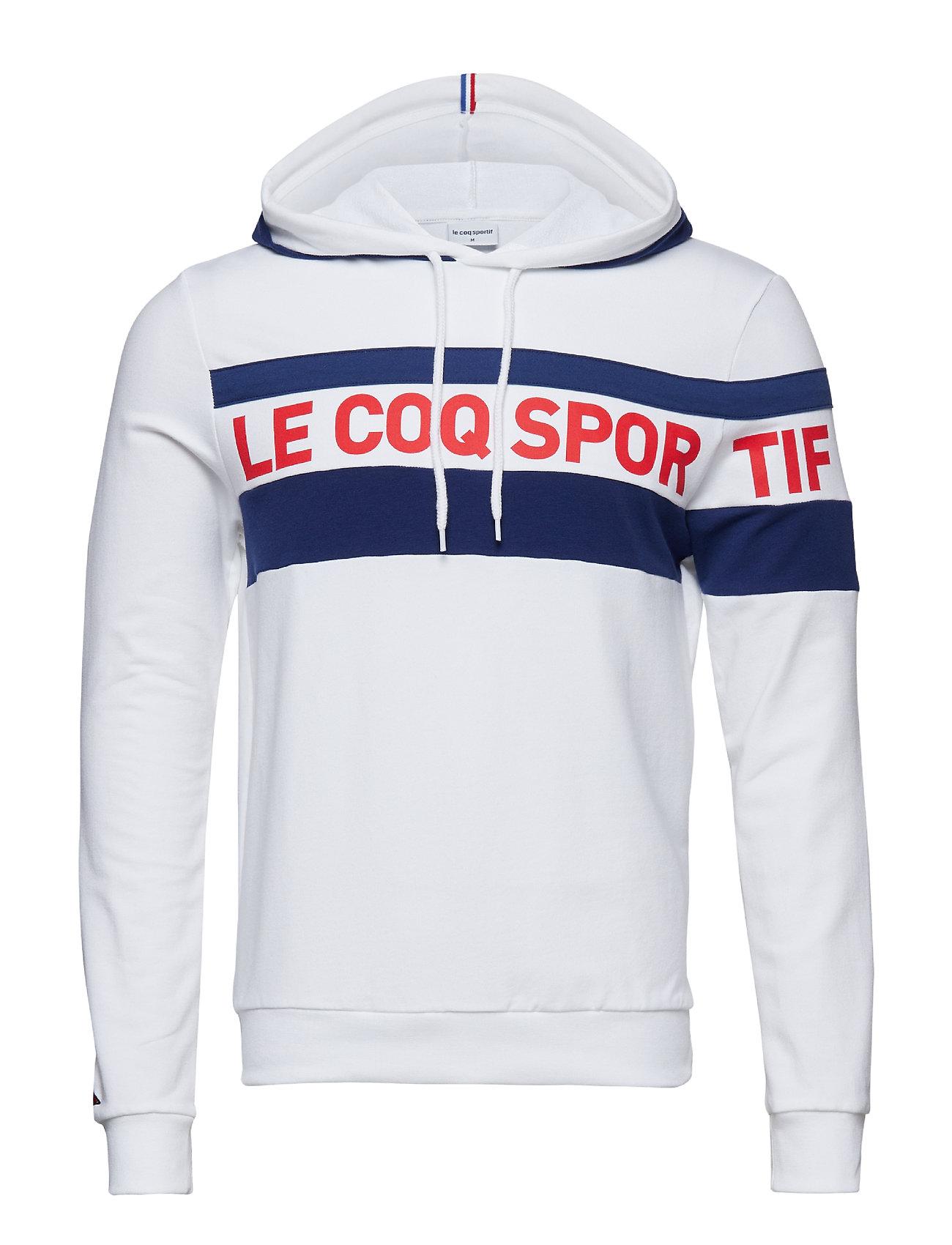Le Coq Sportif ESS SAISON HOODY N°2 M - OPTICAL WHITE