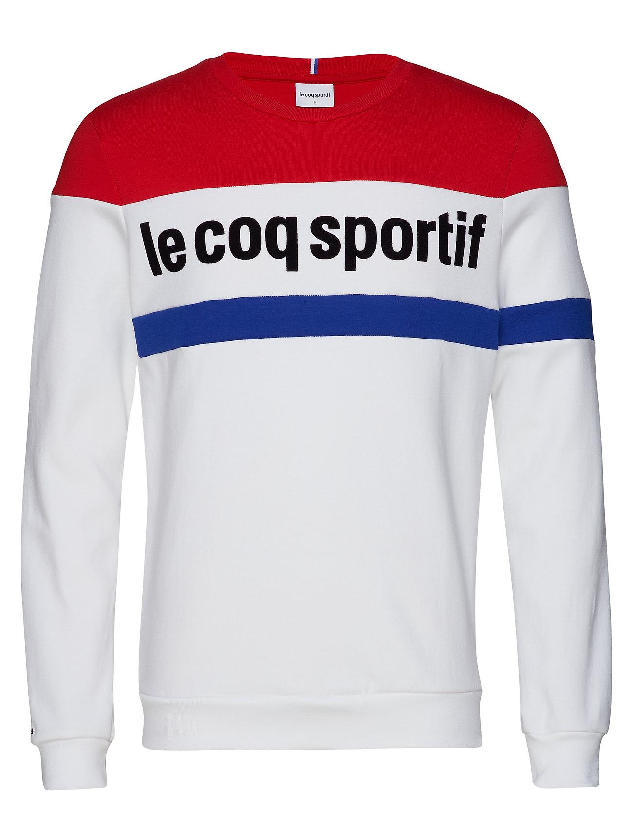 Le Coq Sportif TRI Crew Sweat N°1 M - NEW OPTICAL WHITE