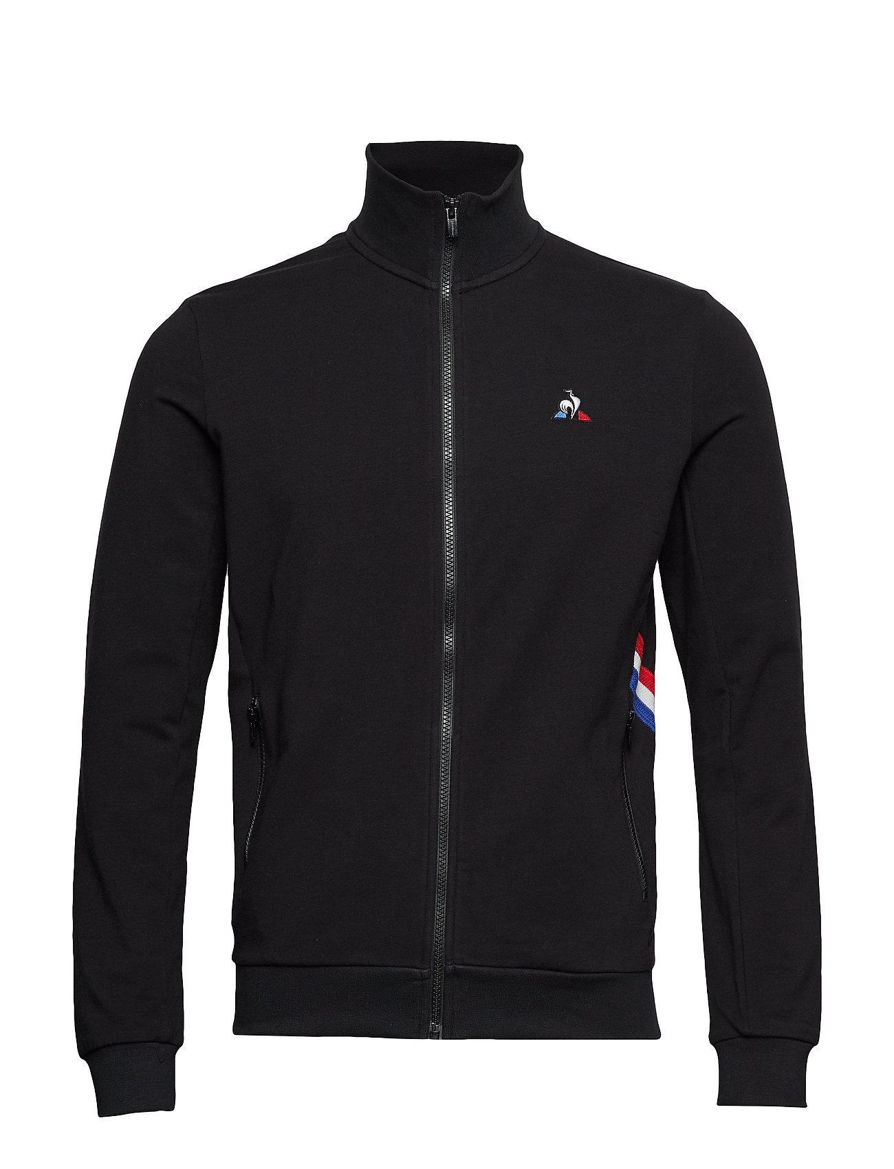 Le Coq Sportif TRI FZ Sweat N°1M - BLACK