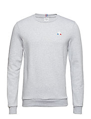 ESS Crew Sweat N°1 M - GRIS CHINé CLAIR