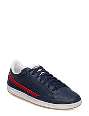 COURTCLAY TRICOLORE - DRESS BLUE/PURE RED