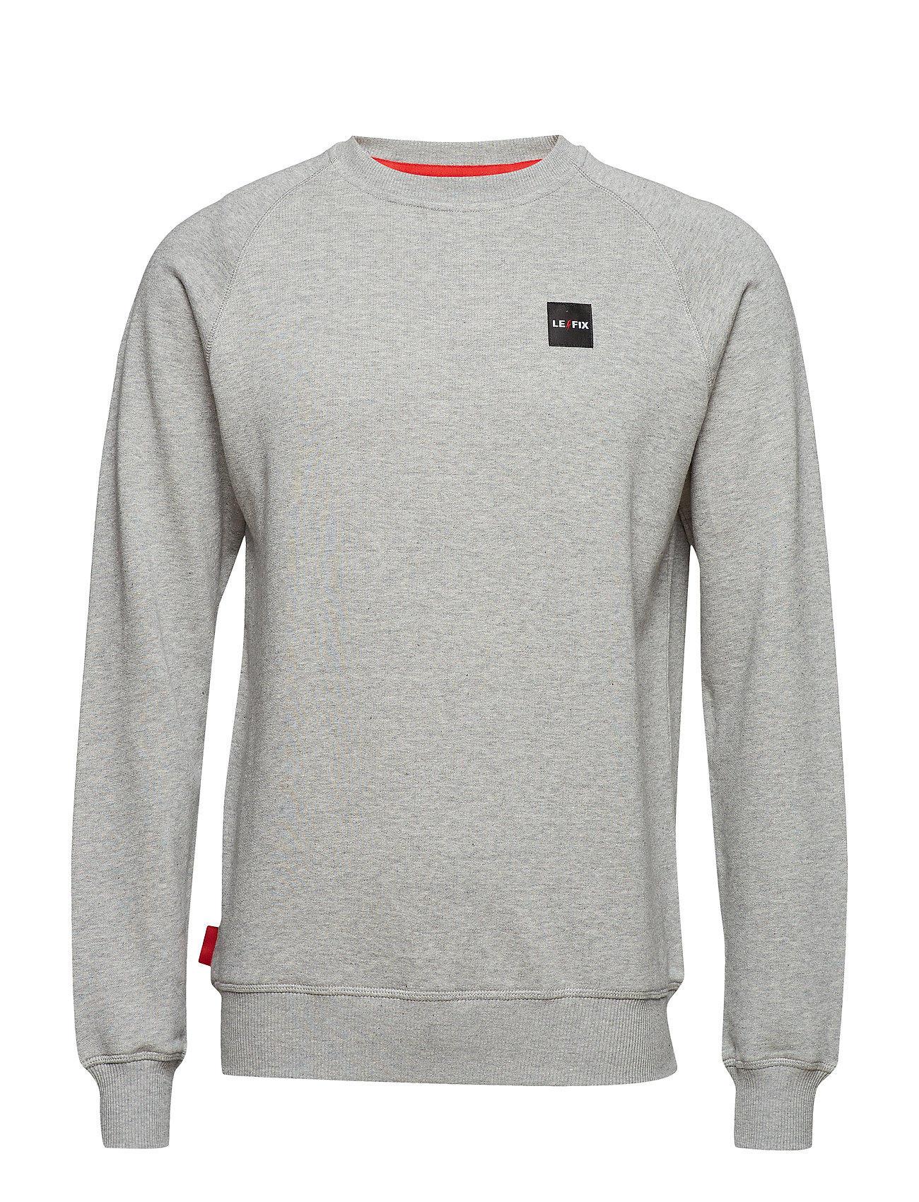 Le Fix LF Patch Crew - GREY MEL.