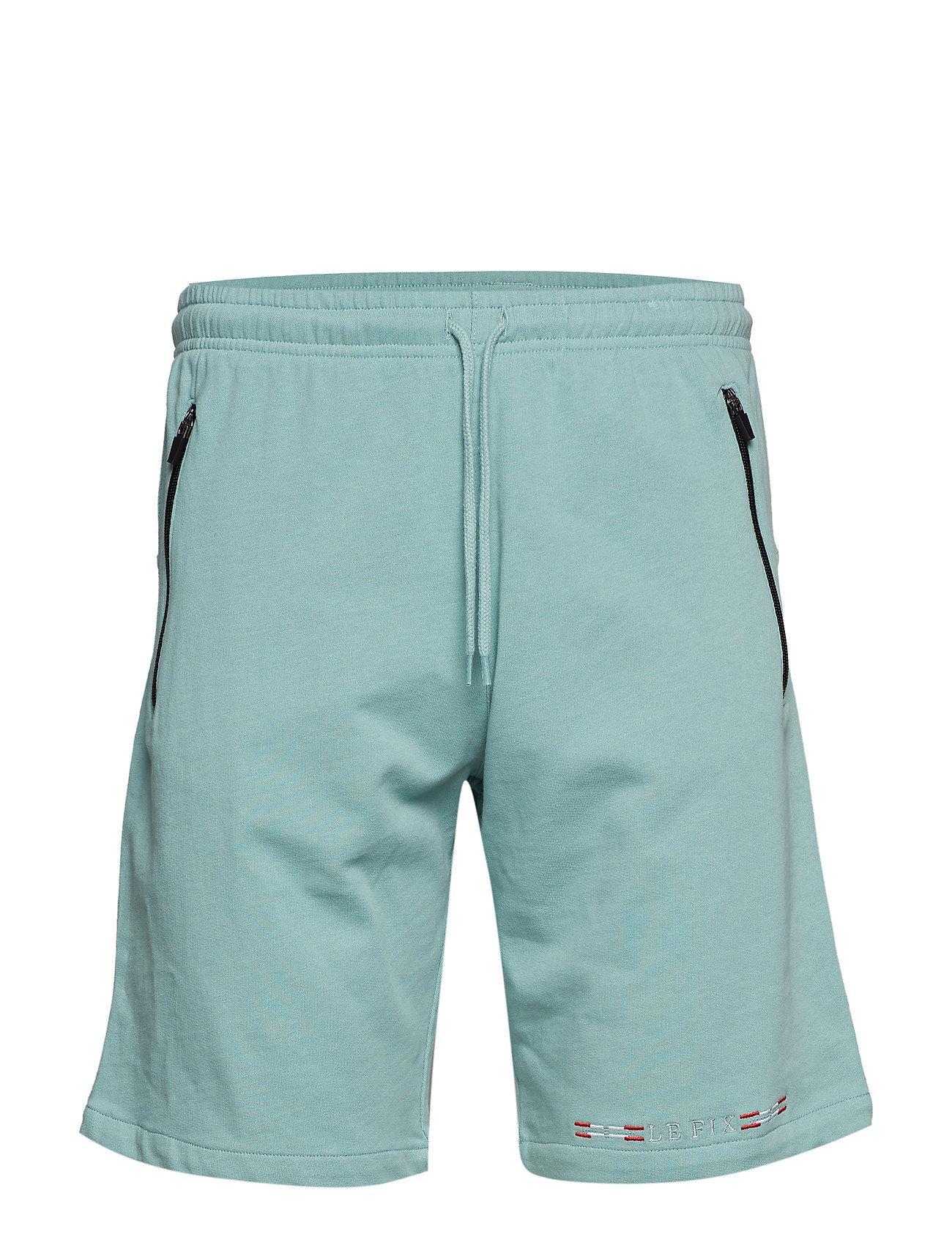 Le-Fix Ice Flag Shorts - PISTACIE
