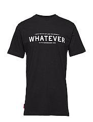 Whatever Tee - BLACK