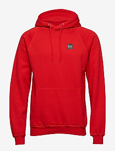 LF Patch Hood - RED