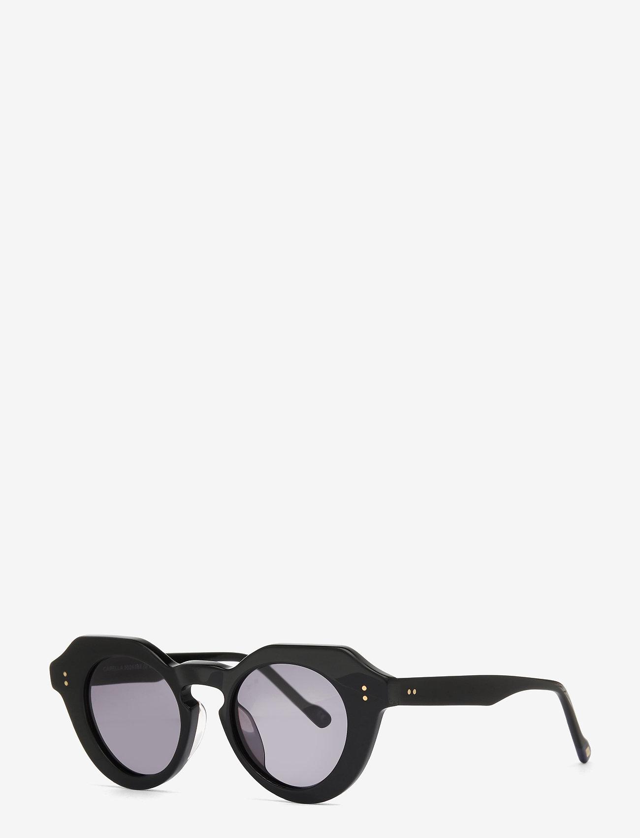 Le Specs - LE SPECS HANDMADE/RX - CAPELLA - rond model - black w/ smoke mono - 1