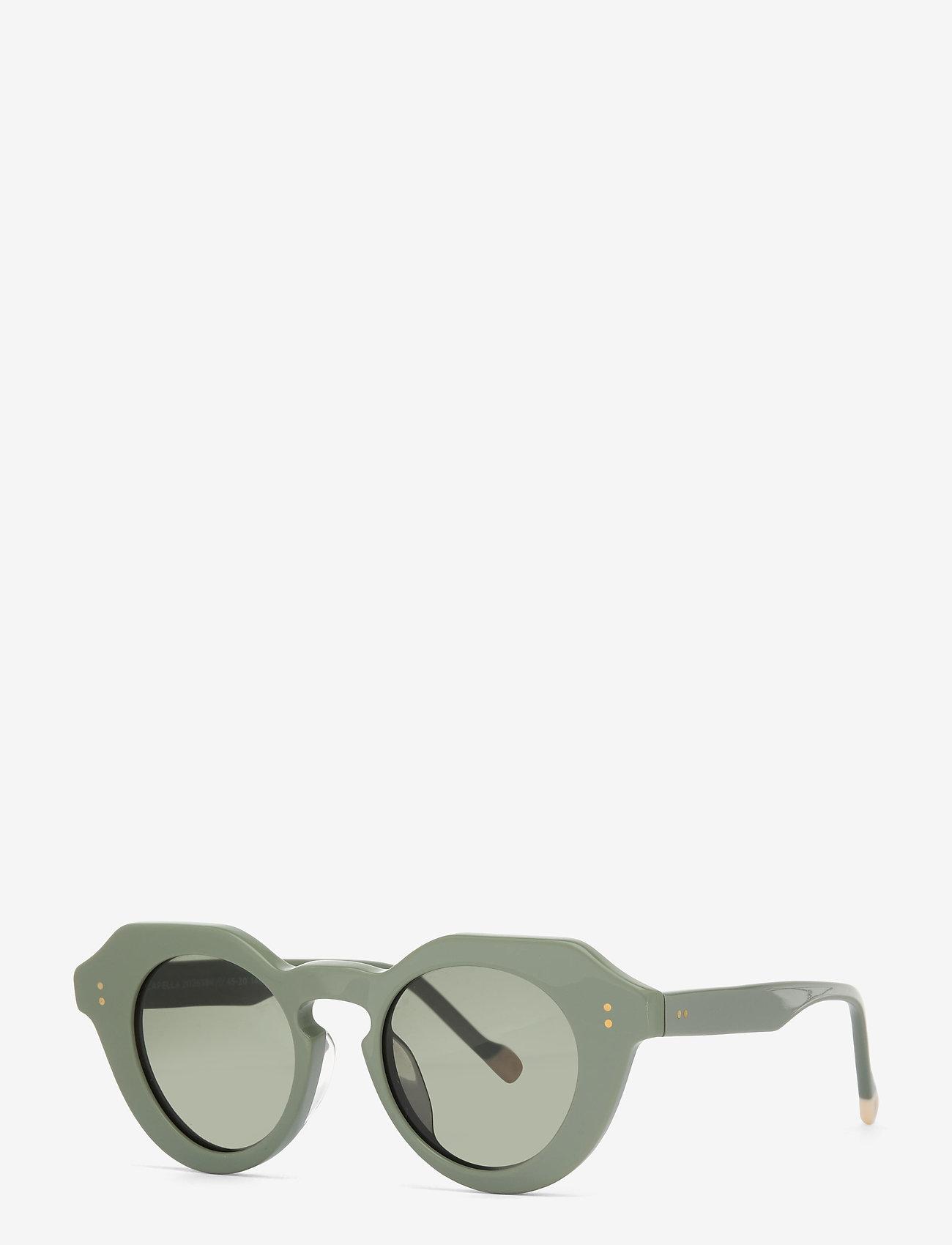 Le Specs - LE SPECS HANDMADE/RX - CAPELLA - rond model - sage putty w/ khaki mono - 0