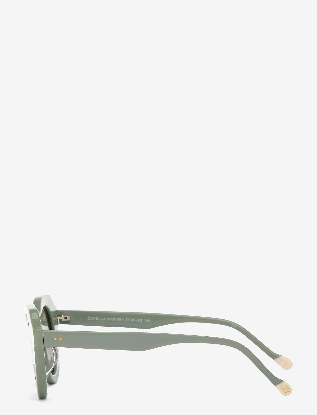 Le Specs - LE SPECS HANDMADE/RX - CAPELLA - rond model - sage putty w/ khaki mono - 1