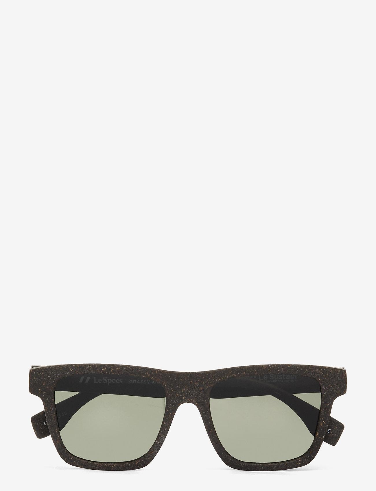Le Specs - LE SUSTAIN - GRASSY KNOLL - d-vormige - midnight grass w/ khaki mono lens - 0