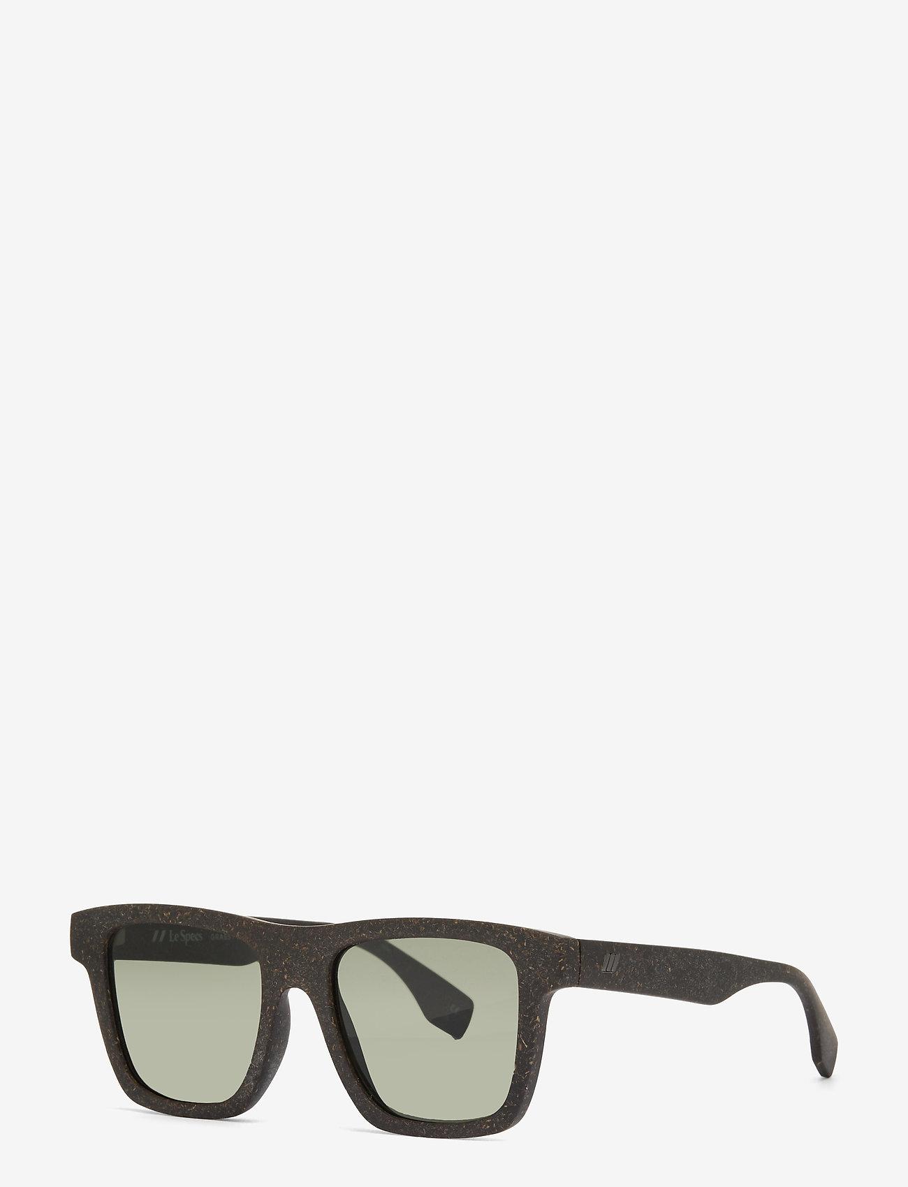 Le Specs - LE SUSTAIN - GRASSY KNOLL - d-vormige - midnight grass w/ khaki mono lens - 1