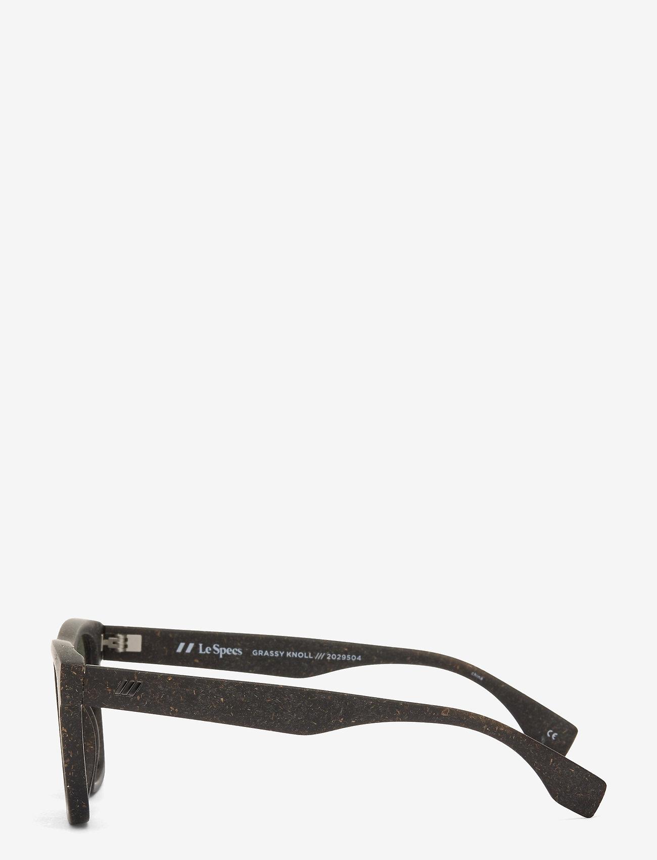 Le Specs - LE SUSTAIN - GRASSY KNOLL - d-vormige - midnight grass w/ khaki mono lens - 2