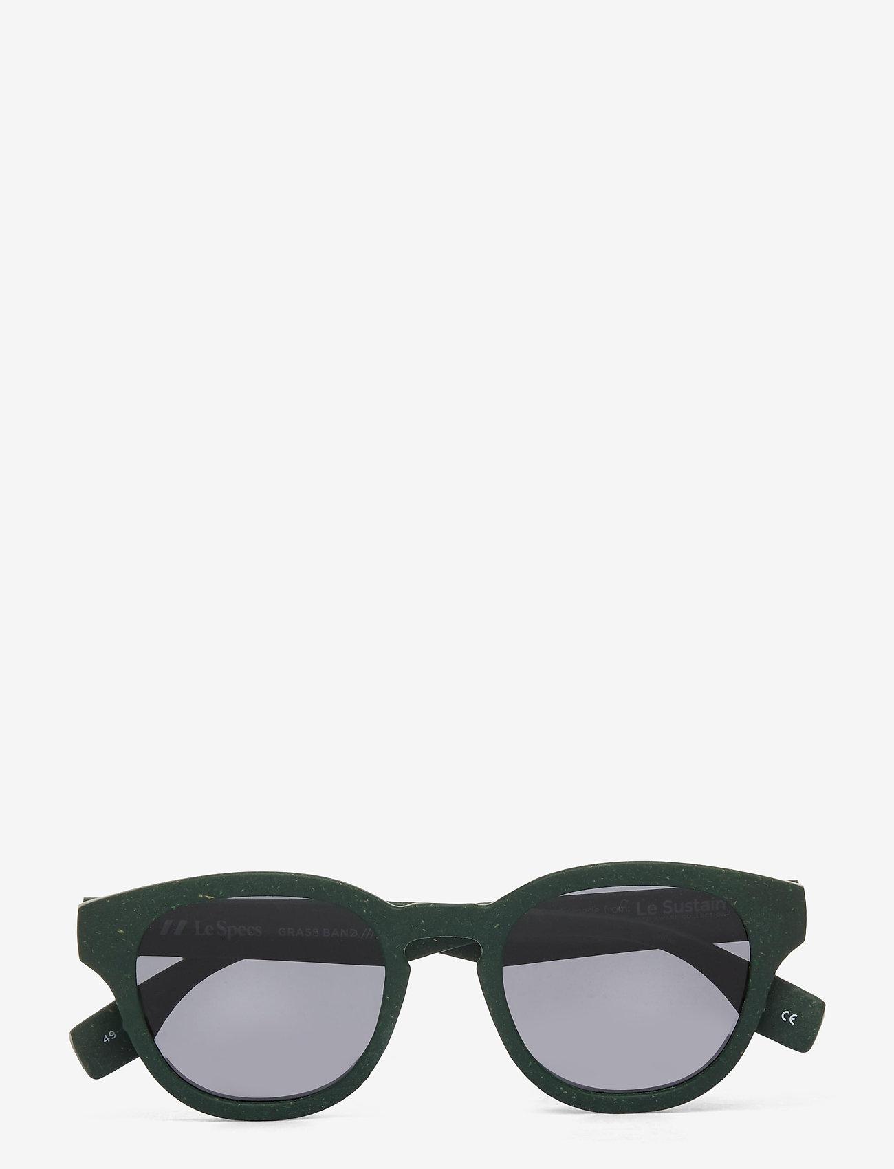 Le Specs - LE SUSTAIN - GRASS BAND - rond model - khaki grass w/ smoke mono lens - 0