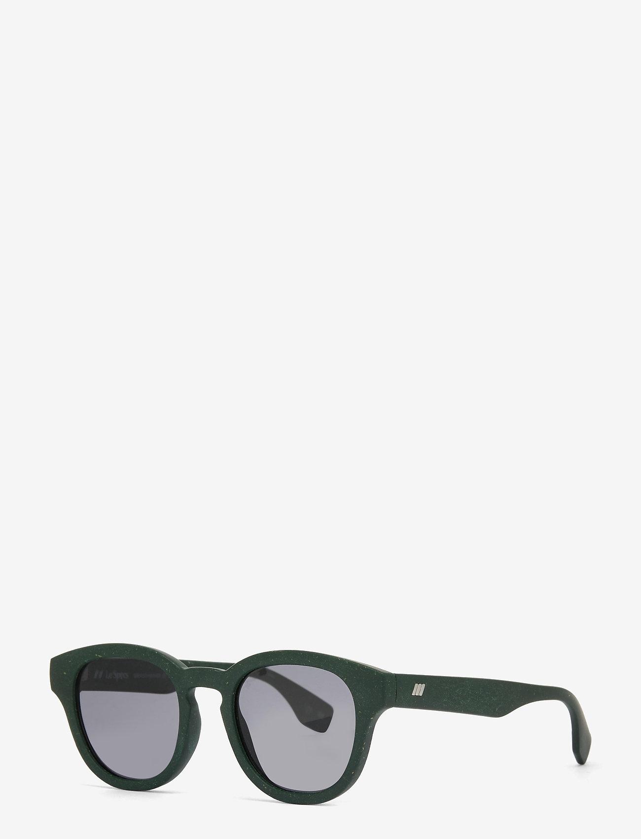 Le Specs - LE SUSTAIN - GRASS BAND - rond model - khaki grass w/ smoke mono lens - 1