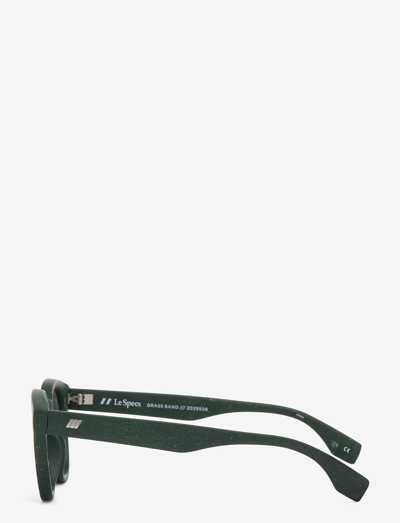 Le Specs - LE SUSTAIN - GRASS BAND - rond model - khaki grass w/ smoke mono lens - 2